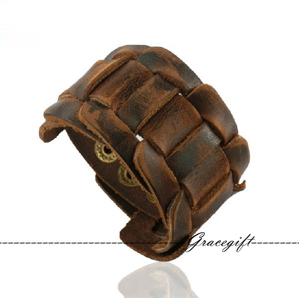 leather bracelet for men - photo #42